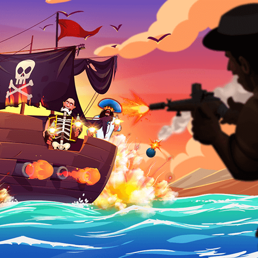 Pirate HuntHTML5 Game - Gamezop