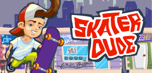 Skater DudeHTML5 Game - Gamezop