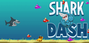 Shark DashHTML5 Game - Gamezop