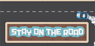 Stay On The RoadHTML5 Game - Gamezop