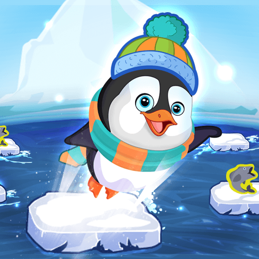 Penguin SkipHTML5 Game - Gamezop