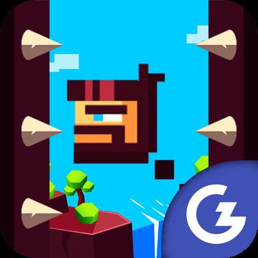 HTML5 Gamezop - Jumpy: The First Jumper