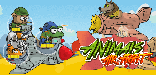 Animals Air FightHTML5 Game - Gamezop