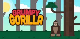 Grumpy GorillaHTML5 Game - Gamezop