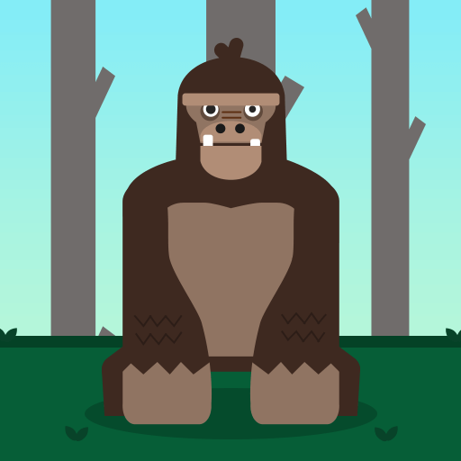Grumpy GorillaHTML5 Game - Gamezop