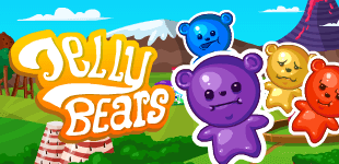 Jelly BearsHTML5 Game - Gamezop