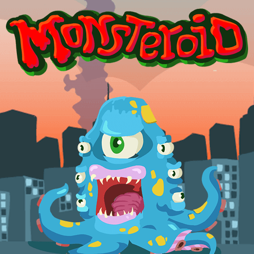 MonsteroidHTML5 Game - Gamezop