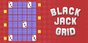 Black Jack GridHTML5 Game - Gamezop