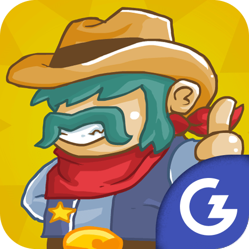 HTML5 Gamezop - Cowboy vs. Martians