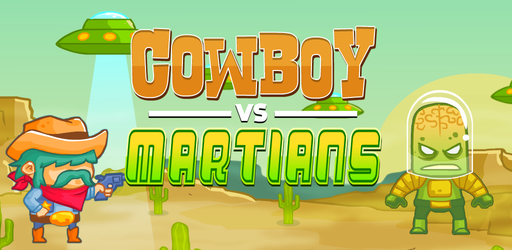 Cowboy vs. Martians