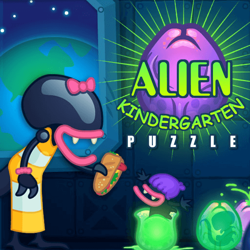 Alien KindergartenHTML5 Game - Gamezop