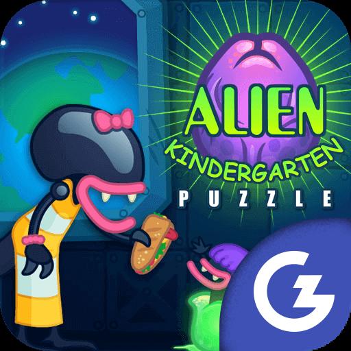 HTML5 Gamezop - Alien Kindergarten