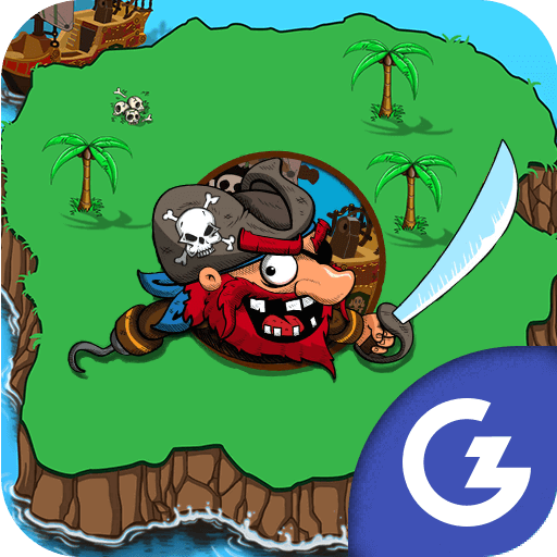 HTML5 Gamezop - Pirate's Pillage! Aye! Aye!
