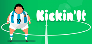 Kickin ItHTML5 Game - Gamezop