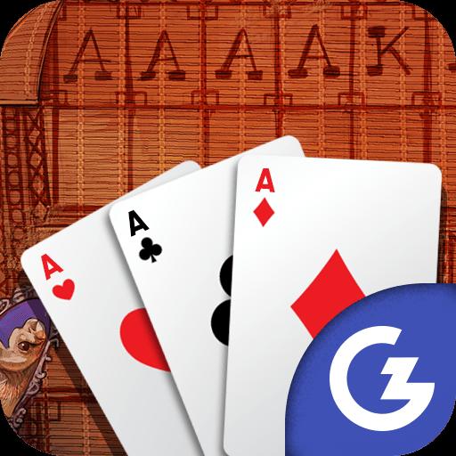 HTML5 Gamezop - Algerian Solitaire