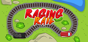 Raging RailHTML5 Game - Gamezop